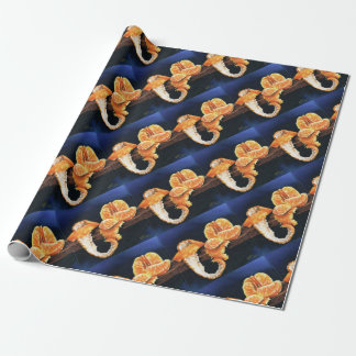 Orange, Peeled Wrapping Paper