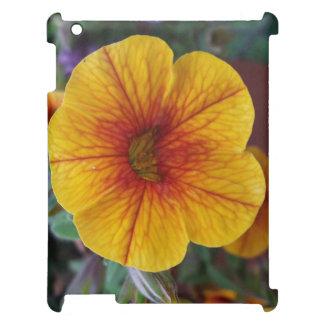 Orange Petunia Case For The iPad 2 3 4