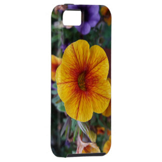 Orange Petunia Case For The iPhone 5