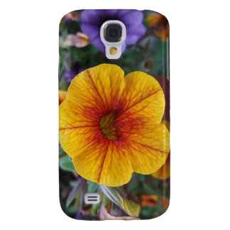 Orange Petunia Galaxy S4 Cases