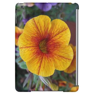Orange Petunia iPad Air Cover