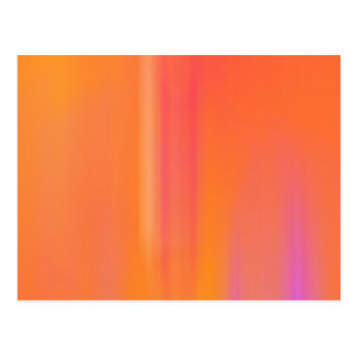 Orange & Pink Motion Blur: Postcard