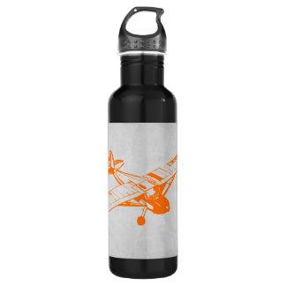 Orange Plane 710 Ml Water Bottle
