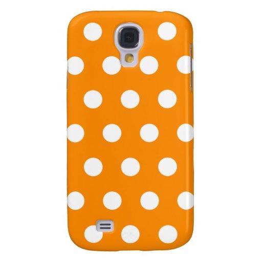 Orange Polka Dot HTC Vivid Case