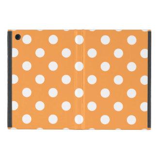 Orange Polka Dot Pattern iPad Mini Case