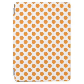 Orange Polka Dots iPad Air Cover