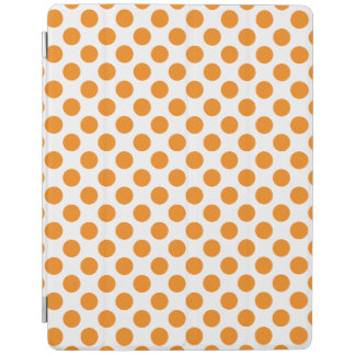 Orange Polka Dots iPad Cover