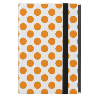 Orange Polka Dots iPad Mini Case