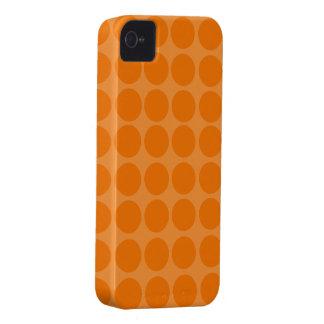 Orange Polka Dots iPhone Case