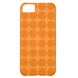Orange Polka Dots iPhone Case iPhone 5C Case