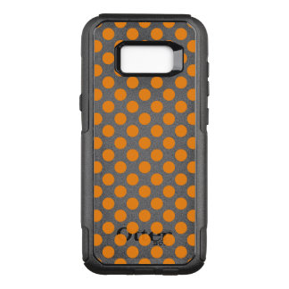 Orange Polka Dots OtterBox Commuter Samsung Galaxy S8+ Case