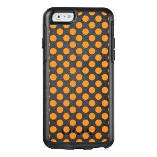 Orange Polka Dots OtterBox iPhone 6/6s Case