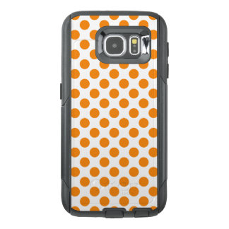 Orange Polka Dots OtterBox Samsung Galaxy S6 Case