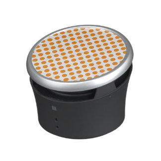 Orange Polka Dots Speaker