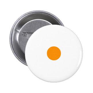 Orange Polkadots Small Pinback Buttons