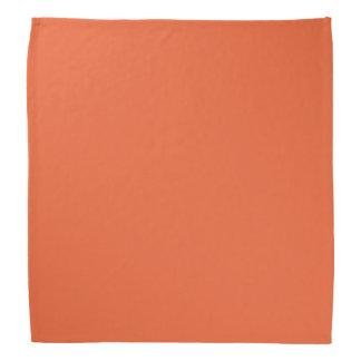 Orange Pop-Bright Orange-Uptown Girl-Designer Bandannas