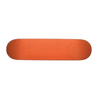 Orange Pop-Bright Orange-Uptown Girl-Designer Custom Skateboard