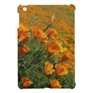 Orange Poppies Blowing In The Wind iPad Mini Case