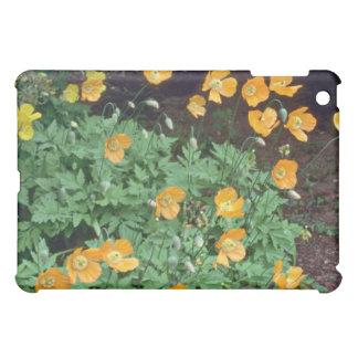 Orange Poppies flowers Cover For The iPad Mini