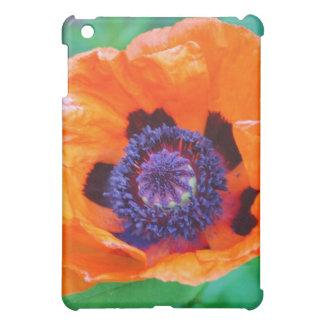 Orange Poppy Flower  iPad Case