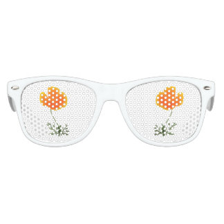 orange poppy kids sunglasses