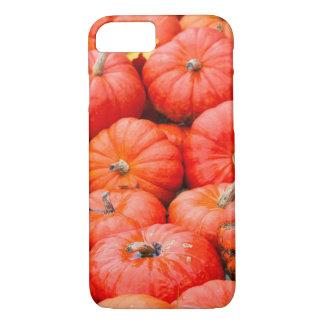 Orange pumpkins at market, Germany iPhone 8/7 Case