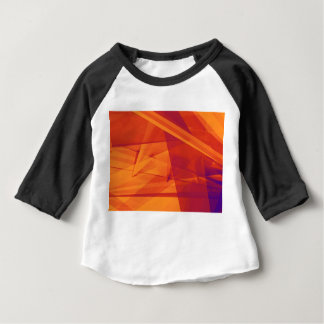 Orange Purple Abstract Background for Design Baby T-Shirt