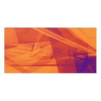 Orange Purple Abstract Background for Design Door Sign