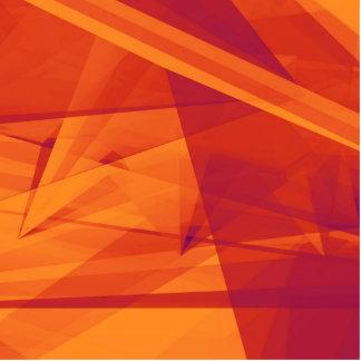 Orange Purple Abstract Background for Design Photo Sculpture Badge