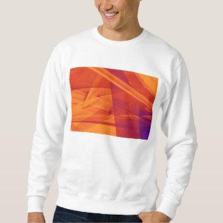 Orange Purple Abstract Background for Design Sweatshirt