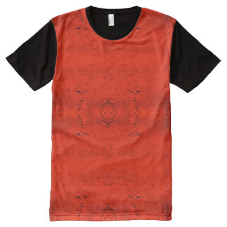 Orange Rain All-Over Print T-Shirt