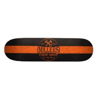 Orange Rat Rods Logo 18.1 Cm Old School Skateboard Deck