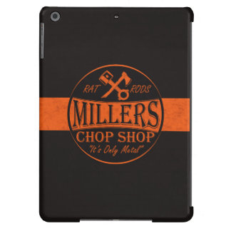 Orange Rat Rods Logo Case For iPad Air