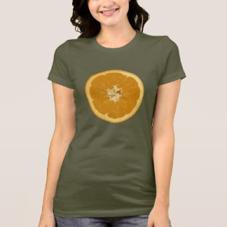 orange. realistic. T-Shirt