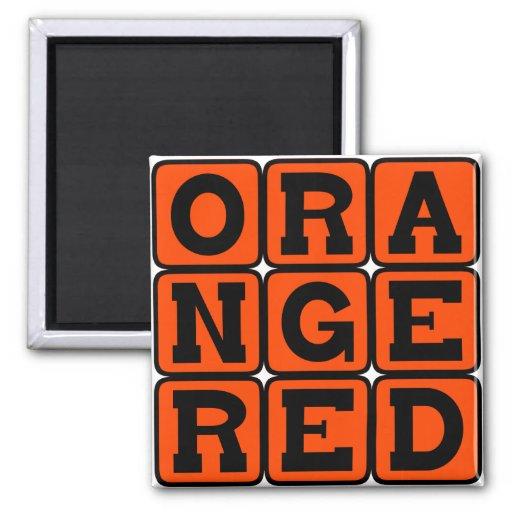 Orange Red, Color Magnets