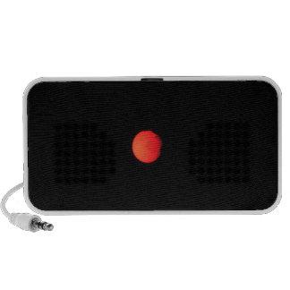 Orange Red Sun Mp3 Speaker