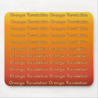 Orange Revolution Mousepad