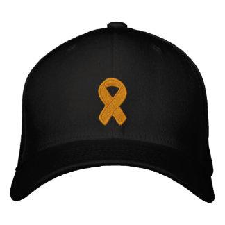 Orange Ribbon Awareness Baseball Cap