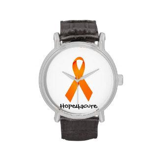 Orange Ribbon watch RSD Leukemia Hope for a cure