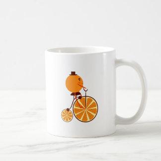 Orange ride coffee mug