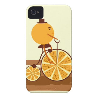 Orange ride iPhone 4 Case-Mate case