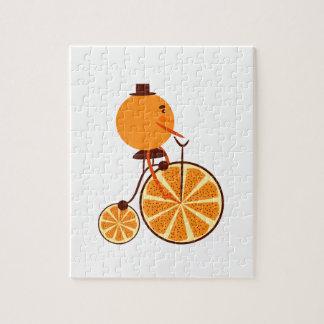 Orange ride jigsaw puzzle