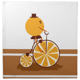 Orange ride napkin