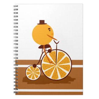 Orange ride notebooks