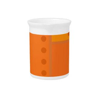 Orange Robot Pitcher