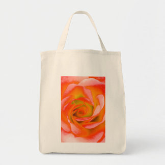 Orange Rose Close-up Tote Bag