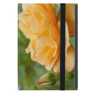 Orange Rose Painterly iPad Mini Case