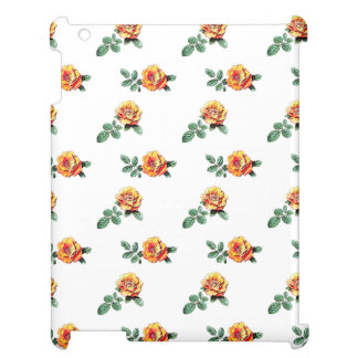 orange rose pattern case for the iPad