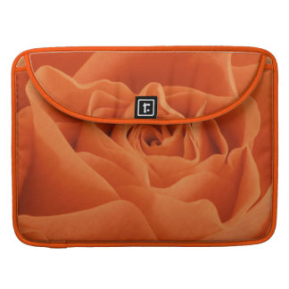Orange Rose Petals Sleeve For MacBook Pro
