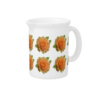 Orange Roses Pitcher